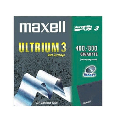 Maxell LTO Ultrium 3 400/800 GB Datenkassete Data Cartridge