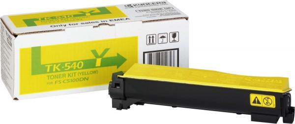 Original Kyocera Toner TK-540Y gelb für FS-C 5100 B-Ware