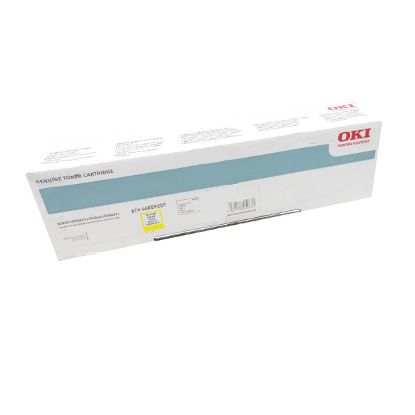 Original OKI Toner 44059257 gelb für ES 8451 8461 B-Ware