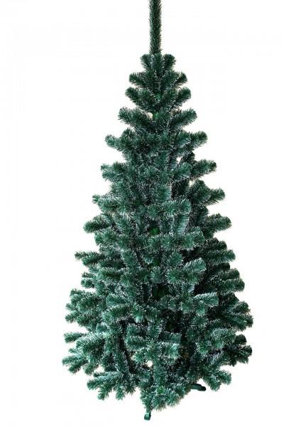 Weihnachtsbaum Grün-Weiß Tanne Lux (Größe: 120 cm)