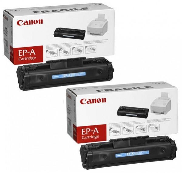 2x Original Canon Toner 1548A003 EP-A für LBP 220 320 460 660 Neutrale Schachtel