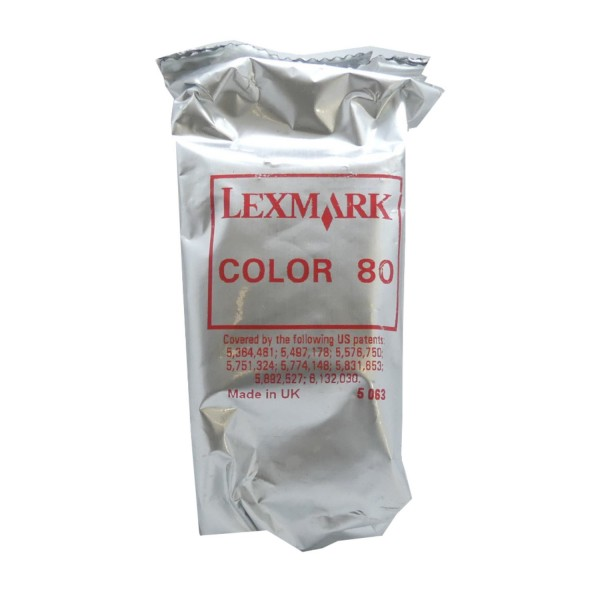 Lexmark 80 COL (12A1980) OEM Blister