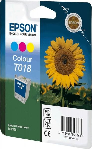 Epson T018 COL (C13T01840110) OEM