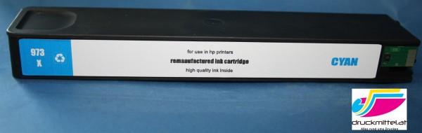 HP 973X CY Tinte (F6T81AE) Reman