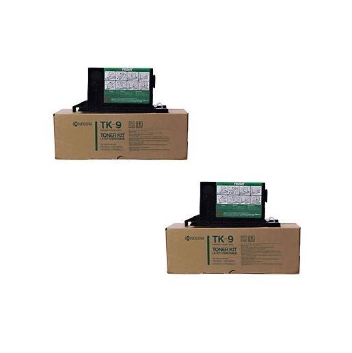 2x Original Kyocera Toner TK-9 schwarz für FS 1500 3500 B-Ware