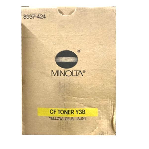 Original Konica Minolta Toner CF Y3B (8937-424) gelb für CF 2000 B-Ware