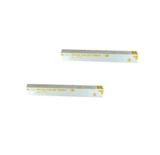 2x Original Ricoh Toner 887921 gelb für Aficio Color 3006 3506 4506 B-Ware
