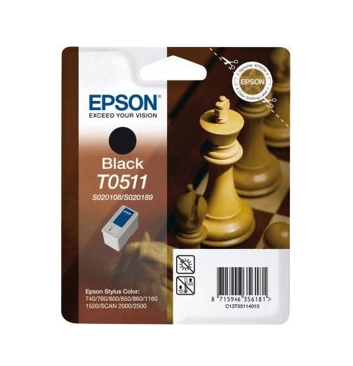 Epson T0511 BK (C13T05114010) OEM