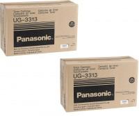 2x Original Panasonic Toner UG-3313 für DF 1100 UF 890 Series Neutrale Schachtel