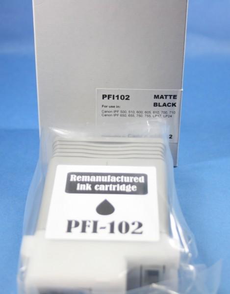 Canon PFI-102 MBK Reman