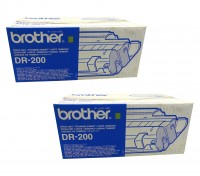2x Original Brother Trommel DR-200 HL 720 730 760 MFC 4300 9050 Neutrale Schachtel