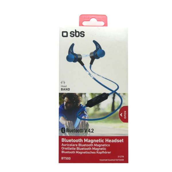 46365_SBS_Magnetische_Kopfhörer_Headset_EARSETBT500R_kabellos_Bluetooth_Earset_blau