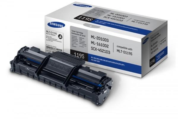 Original SAMSUNG Toner MLT-D119S schwarz ML 1610 2010 Neutrale Schachtel