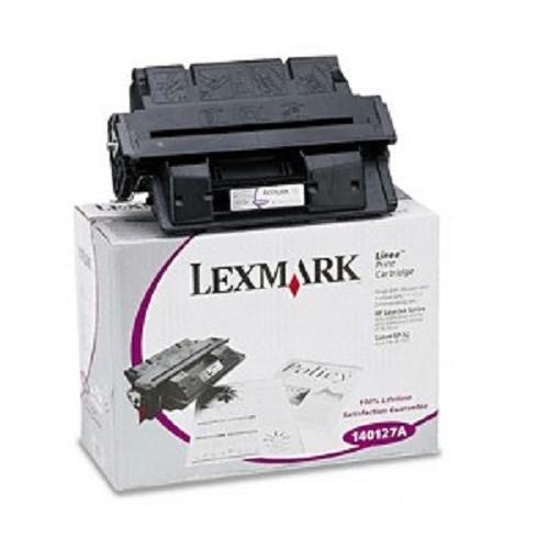 Original Lexmark Toner 140127X schwarz für HP Laserjet 4000 4050 Neutrale Schachtel