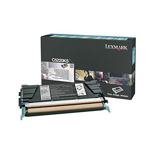 Original Lexmark Toner C5220KS schwarz für C 520 522 524 530 532 534 Neutrale Schachtel