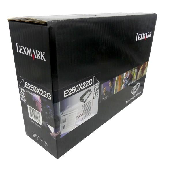 Original Lexmark Trommel E250X22G schwarz für E250 E350 E450 Neutrale Schachtel