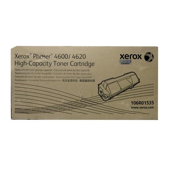 Original Xerox Toner 106R01535 schwarz für Phaser 4600 4620 Neutrale Schachtel