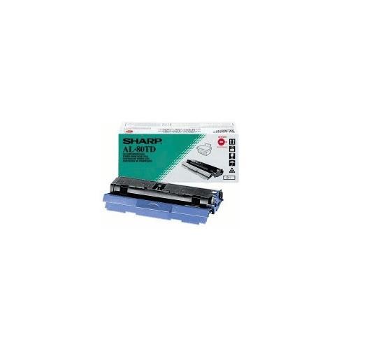 Original Sharp Toner AL-80TD balck für AL 800 840 841 880 F880 B-Ware