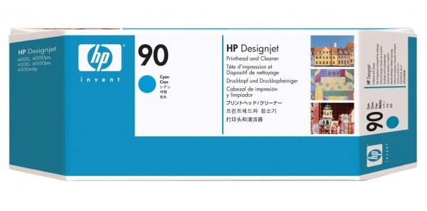 Original HP Druckkopf 90 cyan für DesignJet 4000 4020 4500 4520 MHD