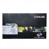 Original Lexmark Toner C746A3YG gelb für C 746 C 748 B-Ware