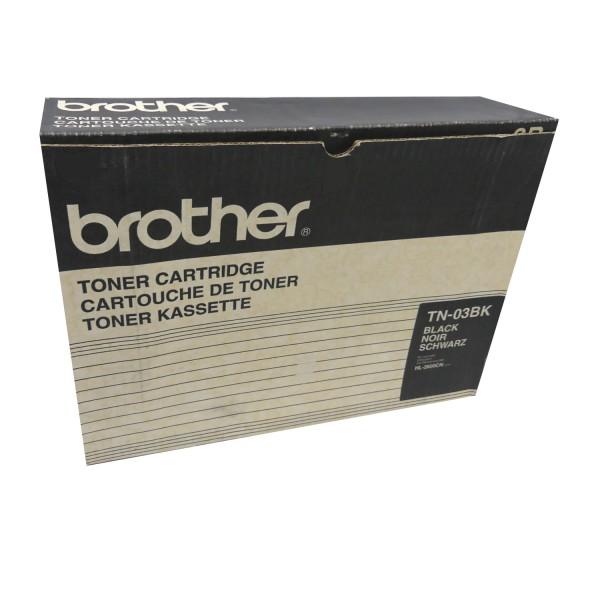 Original Brother Toner TN-03 schwarz für HL 2600 C CN Series B-Ware
