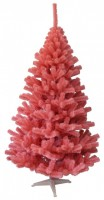Weihnachtsbaum Rosa-Rot Tanne (Größe: 100 cm)