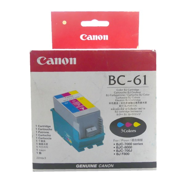 Canon BC-61 COL (0918A002) OEM