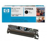 3x Original HP Toner C9700A schwarz für HP Color LaserJet 1500 2500 B-Ware