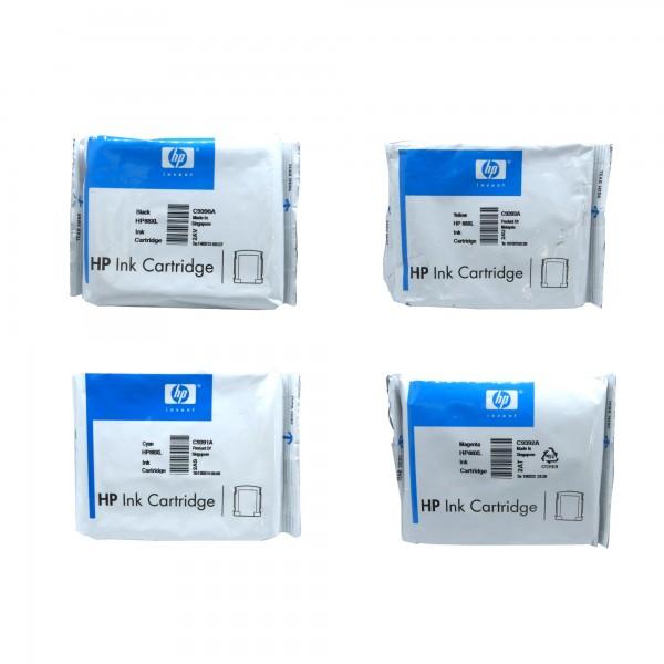 4 x Original HP 88XL Tinten Patrone für OfficeJet K550 K5400 K8600 L7480 D