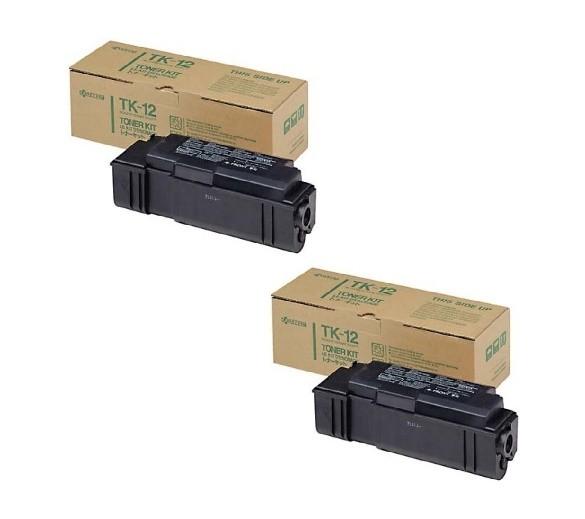 2x Original Kyocera Toner TK-12 schwarz für FS 1600 6500 3400 B-Ware