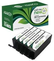 5 x Tinten Patronen für Canon Pixma MG5750 MG6850 MG7750 TS5050 TS6050 TS8050