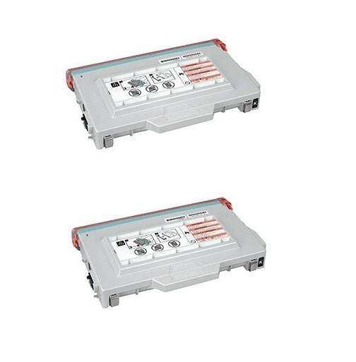 2x Original Tally Toner 044956 schwarz für Genicom T 8004 T 8104 Neutrale Schachtel