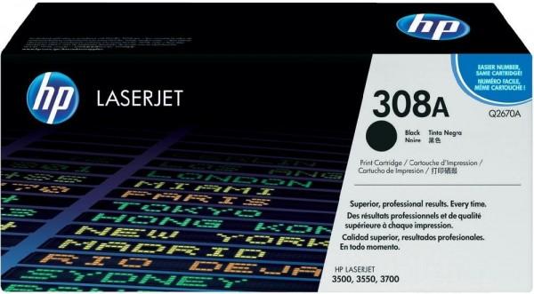 Original HP Toner 308A Q2670A für LaserJet 3500 3550 3700 Series