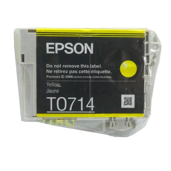 Epson T0714 YE (C13T07144011) OEM Blister