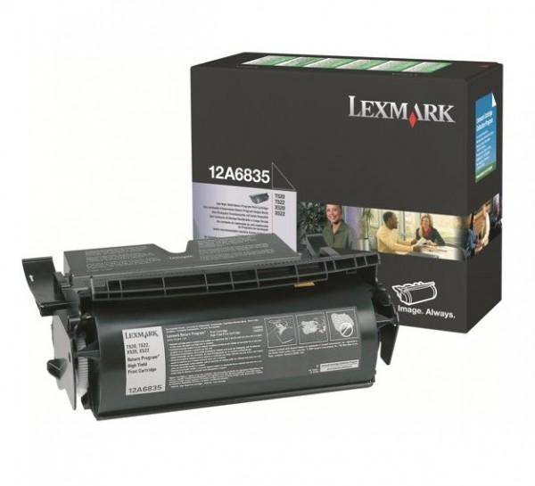 Original Lexmark Toner 12A6835 schwarz für Optra T520 T522 T522N X520 Neutrale Schachtel