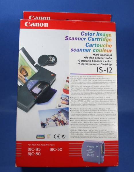 Canon Color Image Scanner Cartridge IS-12 (Q70-3560-726) OEM