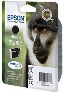 Epson BK T0891 (C13T08914011) OEM