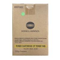 Original Konica Minolta Toner CF Y4B (8937-920) gelb für CF 2002 B-Ware