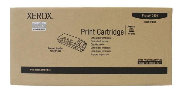Original Xerox Toner 106R01369 schwarz für Phaser 3600 Neutrale Schachtel
