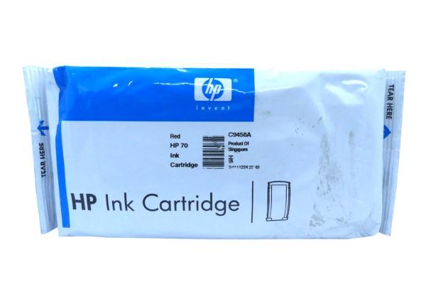 Original HP Tinte Patrone 70 C9456A rot DesignJet Z 2100 3100 3200 5200 Blister