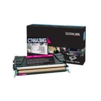 Original Lexmark Toner C746A3MG magenta für C 746 C 748 Neutrale Schachtel