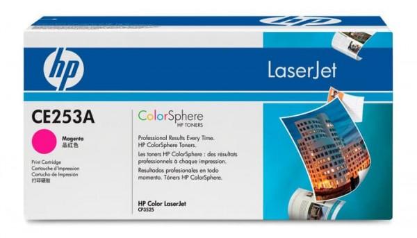 Original HP Toner 504A CE253A Color Laserjet CP3525 CM3530 Neutrale Schachtel