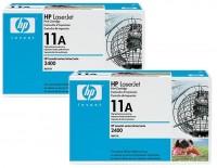 2x Original HP Toner 11A Q6511A für Laserjet 2410 2420 2430 Neutrale Schachtel