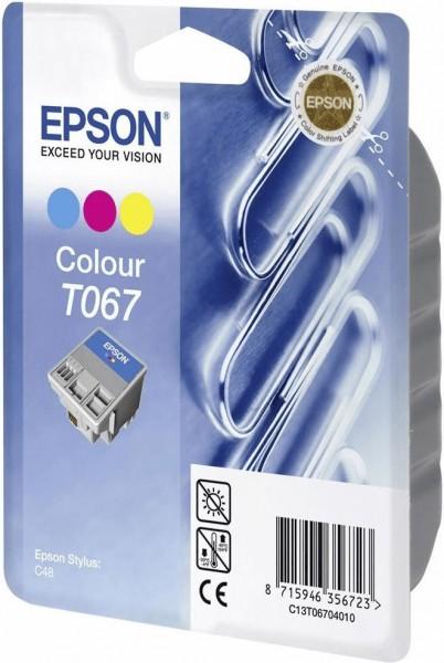 Epson T067 COL (C13T067040JA) OEM