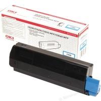 Original OKI Toner 42127456 cyan für C5150n 5250dn 5250n 5450dn