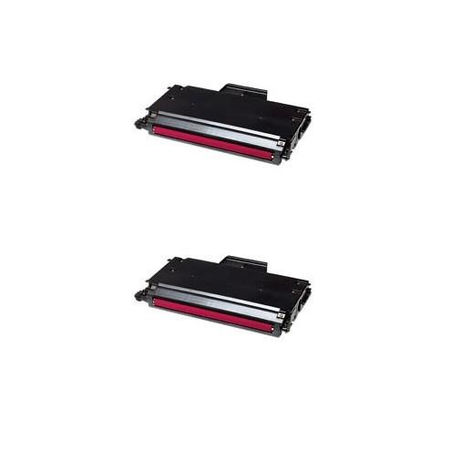 2x Original Tally Toner 044954 magenta für Genicom T 8004 T 8104 Neutrale Schachtel