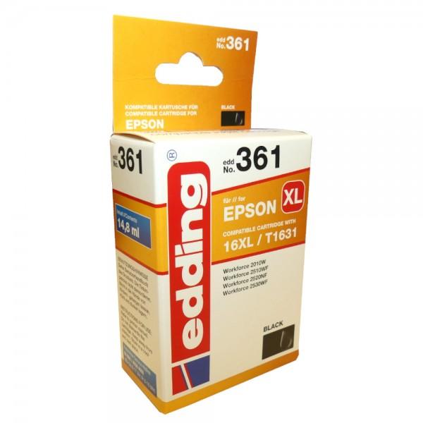 Original Edding Tinte Patrone 431 für Epson 16XL Multi Workforce 2010 2510 2630