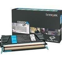 Original Lexmark Toner C5240CH cyan für C 534 C 524 Neutrale Schachtel