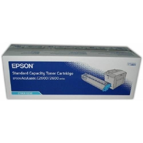 Original Epson Toner C13S050232 cyan für Aculaser C 2600 B-Ware