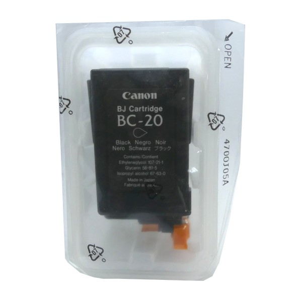 Canon BC-20 BK (0895A002/0895A348) OEM Blister